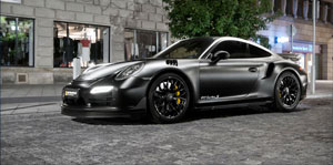 Kara Şovelye: Porsche Dark Knight 911 Turbo S