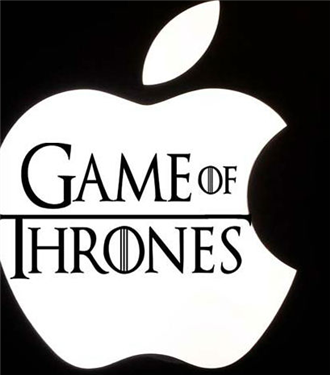 Apple Game of Thrones'a Rakip Dizi Çekiyor
