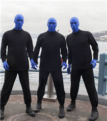 Blue Man Group'tan Tarkan Sürprizi