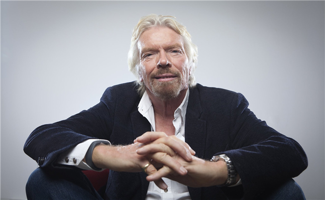 Richard Branson - ( Virgin Group)