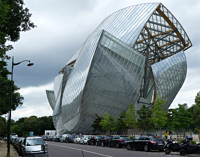 Fondation Louis Vuitton, Paris, Fransa