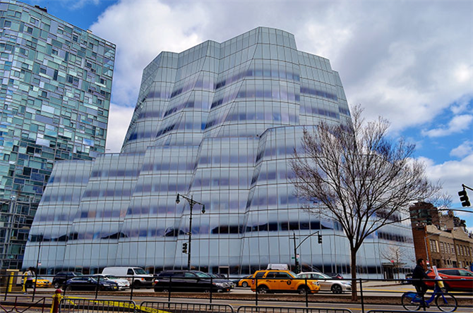 The Iac Building, New York