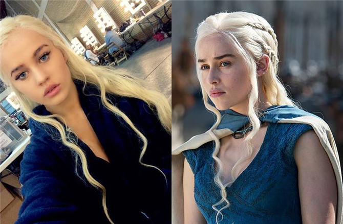 Game of Thrones Emilia Clarke (Daenerys Targaryen) 'ın Dublorü Rosie Mac Kimdir?