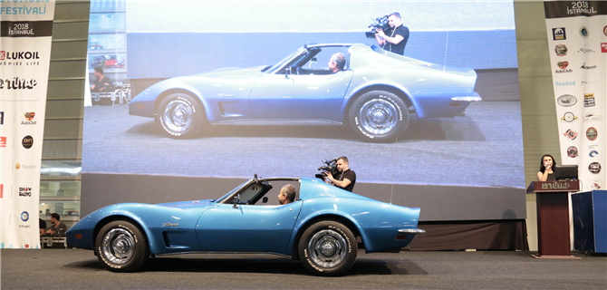 1970 Model Chevrolet Corvette Stingray