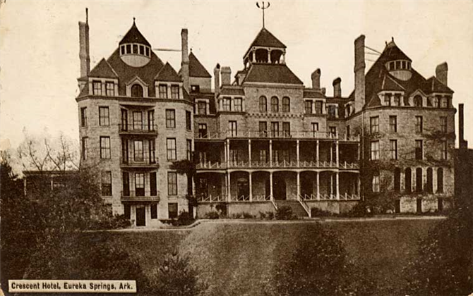 The Crescent Hotel, Eureka Springs, Arkansas