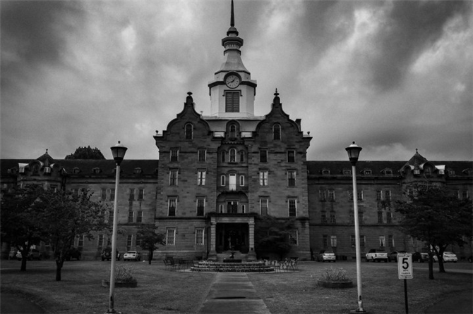 The Trans-Allegheny Lunatic Asylum, Weston, West Virginia